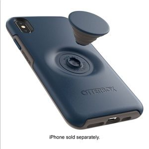 iPhone XS Max OtterBox Pop socket phone case